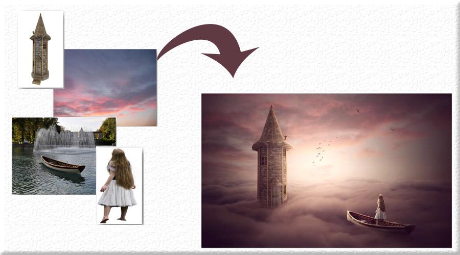 دمو 3 خلق تصاویر ترکیبی پیشرفته و Photo Manipulation در فتوشاپ