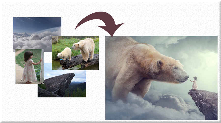 دمو2 خلق تصاویر ترکیبی پیشرفته و Photo Manipulation در فتوشاپ